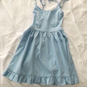 Tobi Backless Babydoll Dress